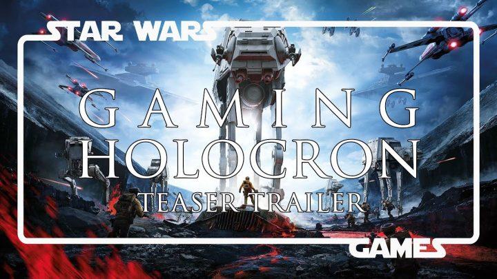 Star Wars Gaming Holocron Teaser Trailer